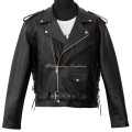 Motorcycle leather jacket MLJM-01