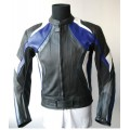 Motorcycle leather jacket MLJM-08