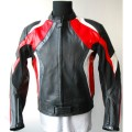 Motorcycle leather jacket MLJM-08R